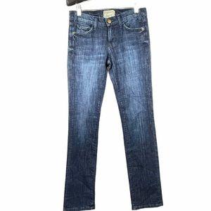 Current/Elliott The Straight Leg Blue Jeans 25